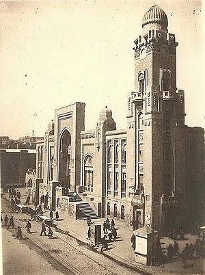 http://www.ourbaku.com/images/thumb/1/17/Баку._Вокзал_(1930-ые_г.г.).jpg/300px-Баку._Вокзал_(1930-ые_г.г.).jpg