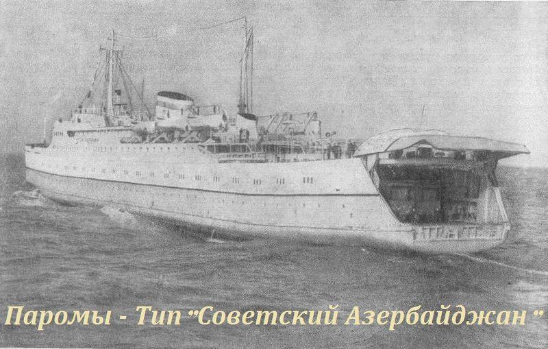 Паром актау Баку