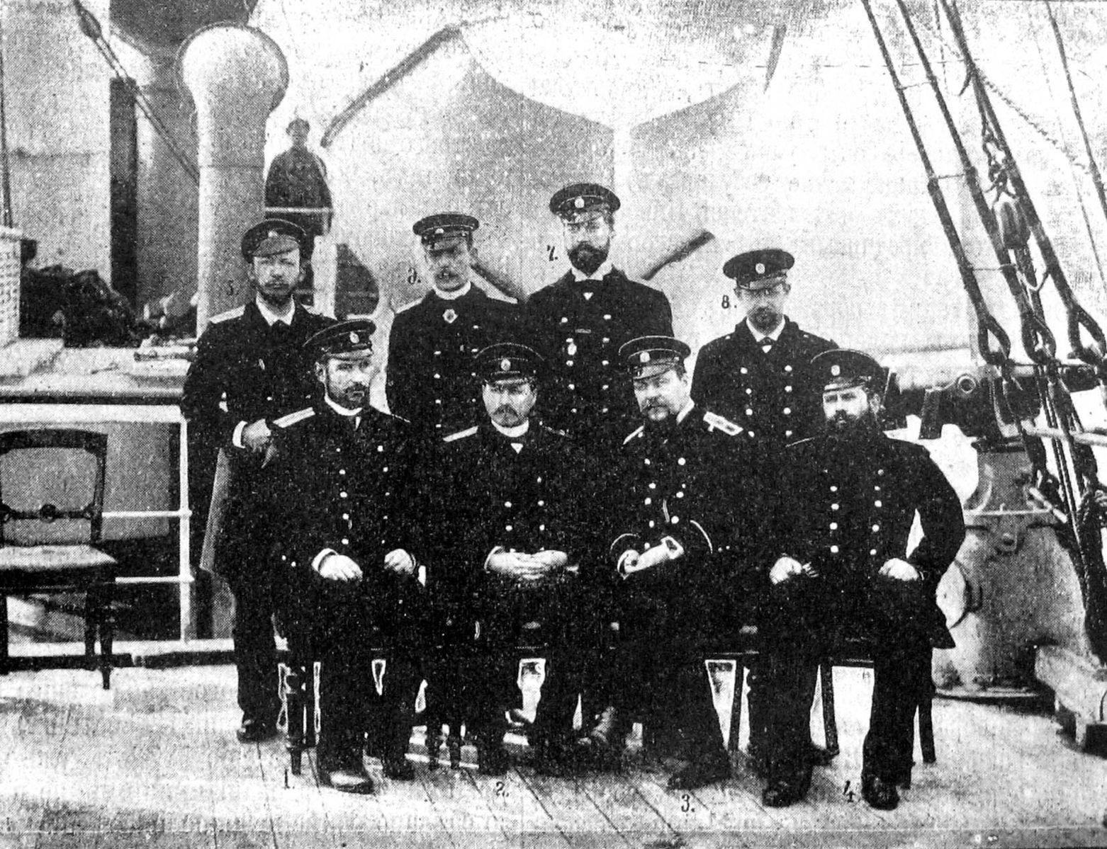 фото морских офицеров до революции сравнении другими марками